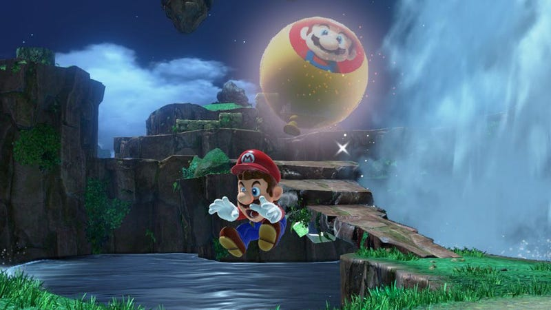 Illustration for article titled Mario Odyssey Players Are Breaking The New Balloon Mode