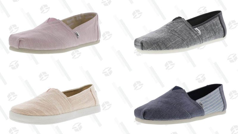 TOMS Shoes for Men, Women, and Kids | $31 | Daily Steals | Promo code KJTOMS