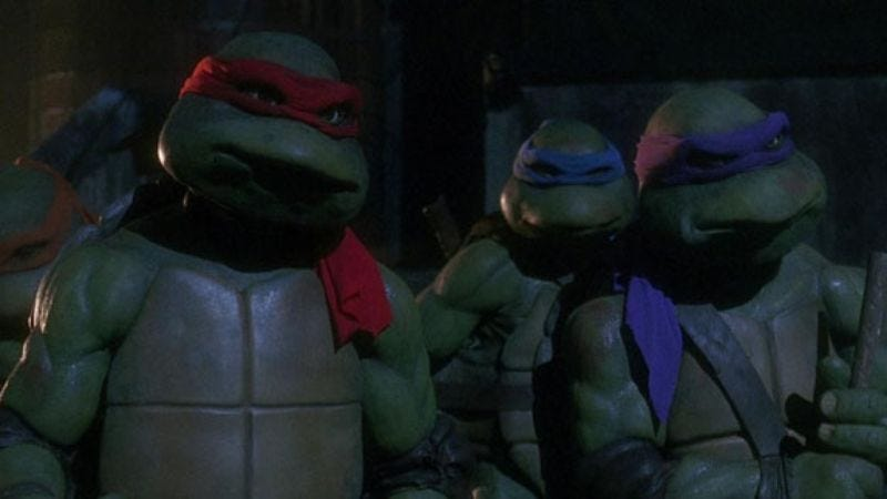 Illustration for article titled Michael Bay will explain why it's just called Ninja Turtles now, if you'll just give him a chance