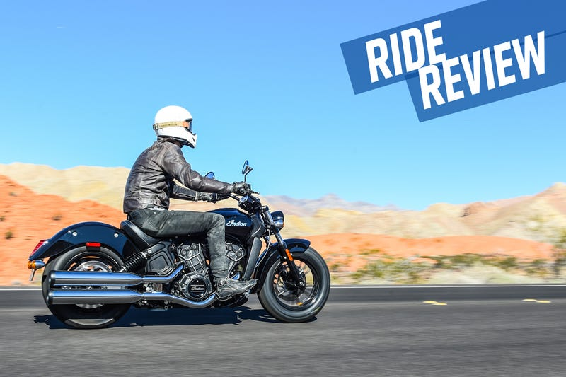 Illustration for article titled Ride Review: The 2016 Indian Scout Sixty Taught Me To Love Cruisers