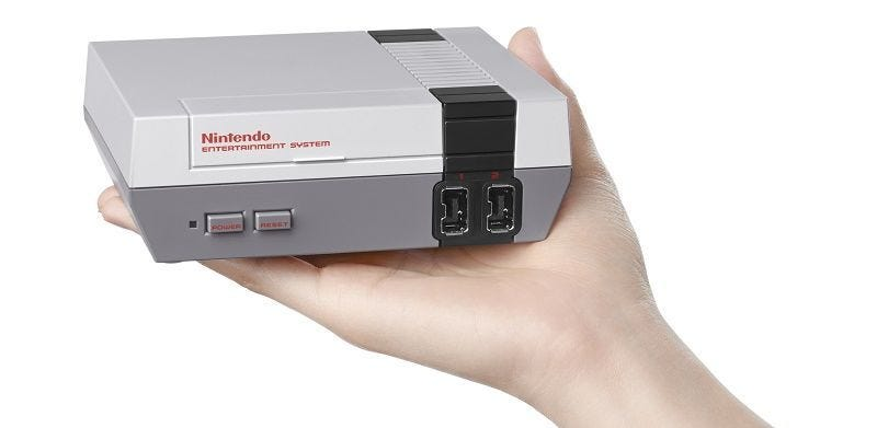 Illustration for article titled Nintendo Discontinues The NES Classic