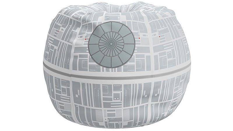 Illustration for article titled A Death Star Bean Bag Chair Is the Ultimate Comfort In Your Living Room