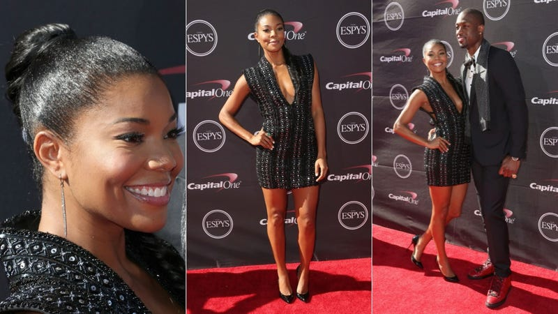 Illustration for article titled Gabrielle Union Has Got Legs, Knows How to Use Them