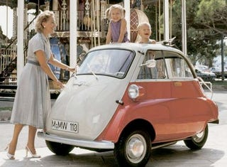 Illustration for article titled BMW City Car Confirmed, 0-Series Or Return Of The Isetta?