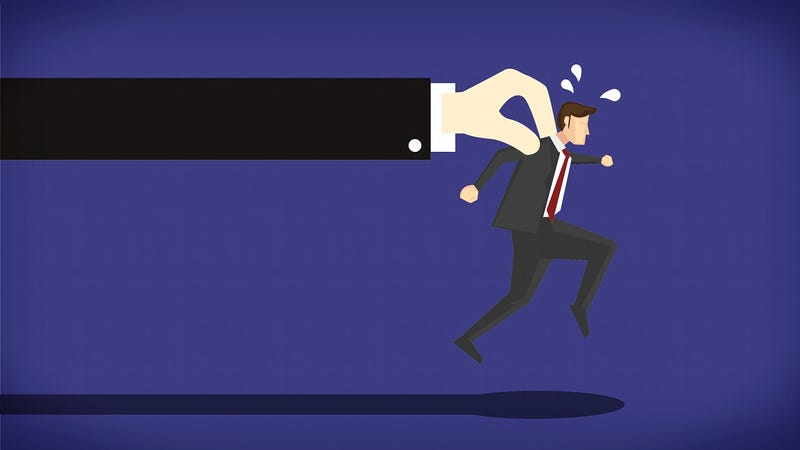 Illustration for article titled What to Do When Your Boss Finds Out You're Job Hunting