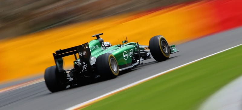 Illustration for article titled Caterham F1 Team Reportedly Raided By Police