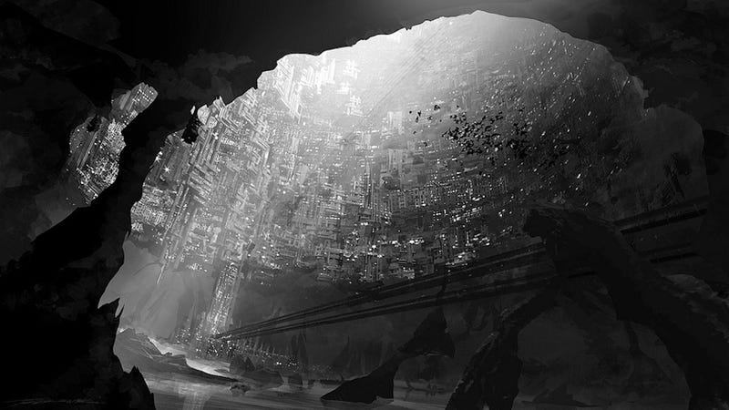 Illustration for article titled The underground city has thrown open its doors to the surface