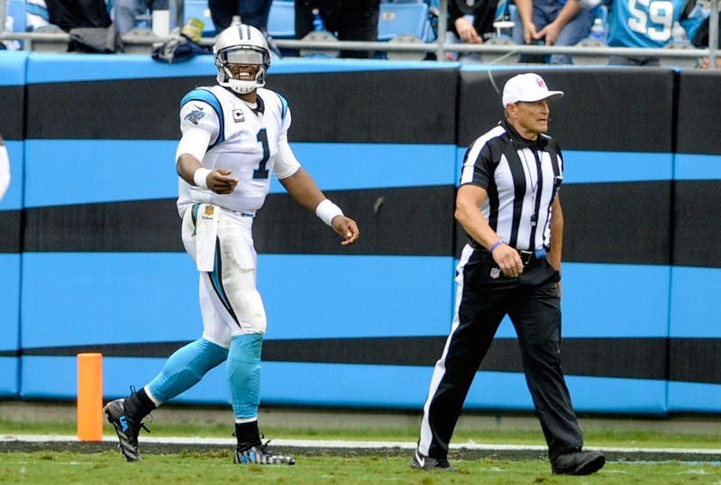 Illustration for article titled Cam Newton Isn't Buying Ed Hochuli's Denial