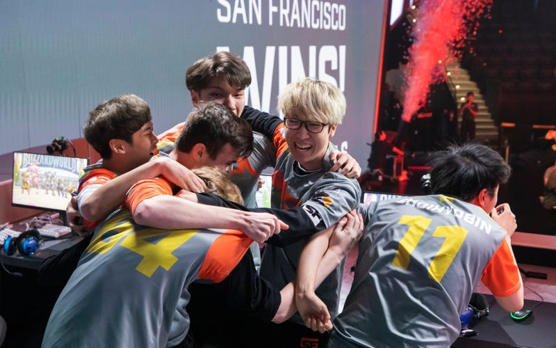 Illustration for article titled Thrilling Overwatch League Match Sees Only Undefeated Team Lose
