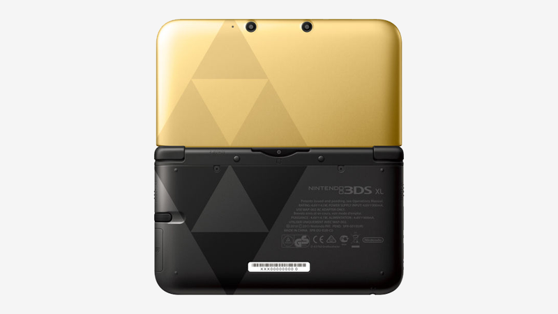 Illustration for article titled Glorious New Zelda 3DS XL Puts Light And Dark In Your Hands