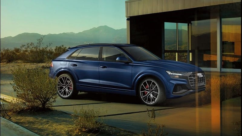 Illustration for article titled How was this missed? 2019 Audi Q8 starts at $67,400.