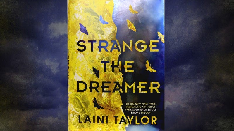 Gods and monsters are one and the same in Laini Taylor's Strange The Dreamer