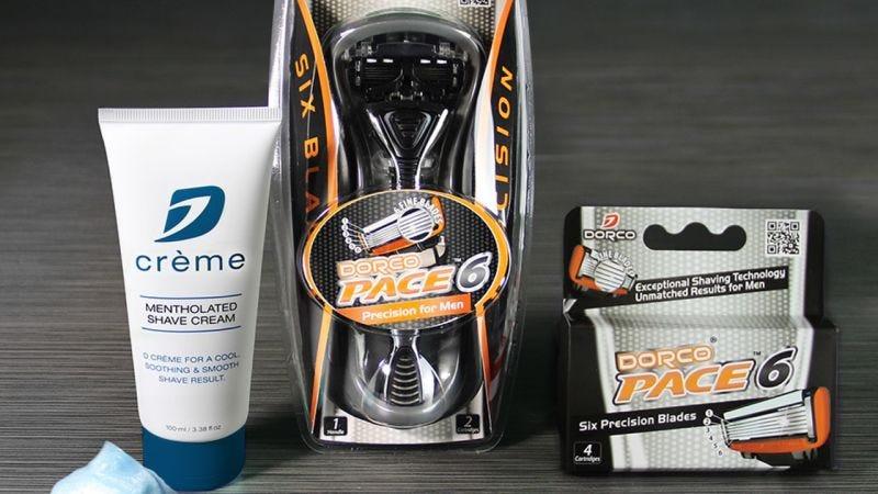 Set de afeitado Dorco Pace 6 | $10 | Dorco | Usa el código KINJA43X