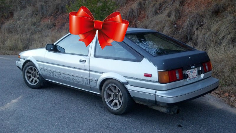 Illustration for article titled Give This AE86 A New Home And Fulfill A Jalop's Christmas Wish