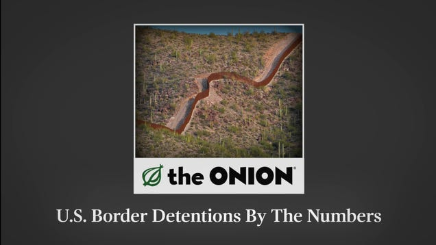 U.S. Border Detentions By The Numbers