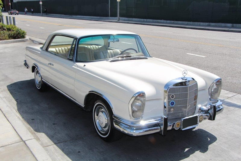 million mile 250se coupe is socal owner 39 s daily driver
