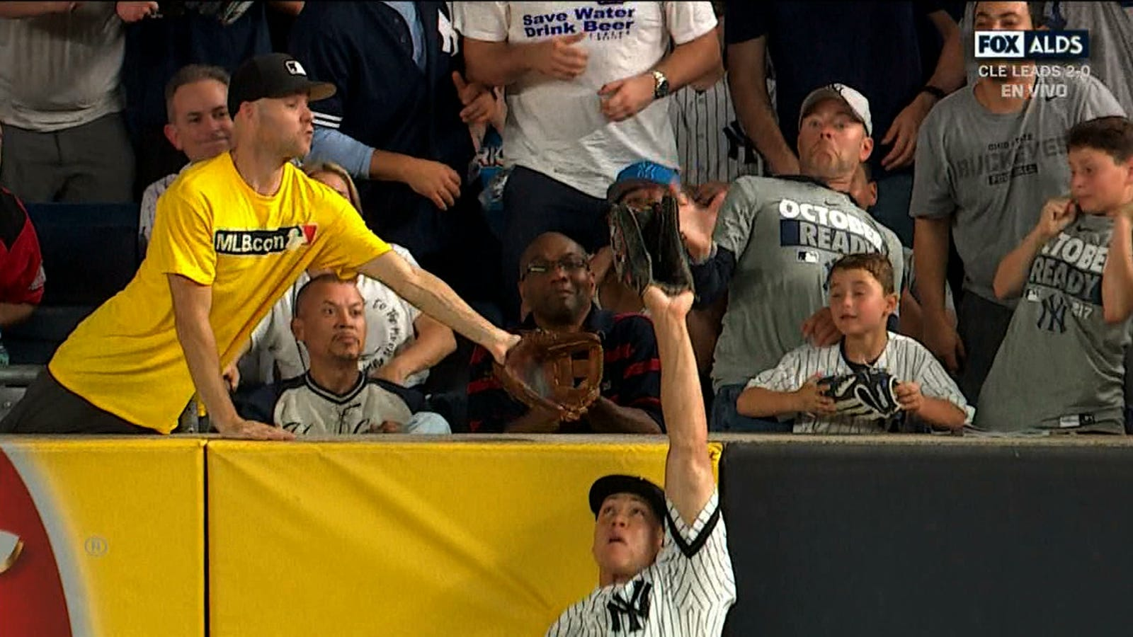 Aaron Judge Robs Home Run, Denies Zack Hample Baseball, Is Officially World's Greatest Athlete