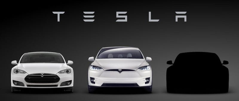 Tesla Must Want To Call Its New Car The Model E So Bad - All models of tesla
