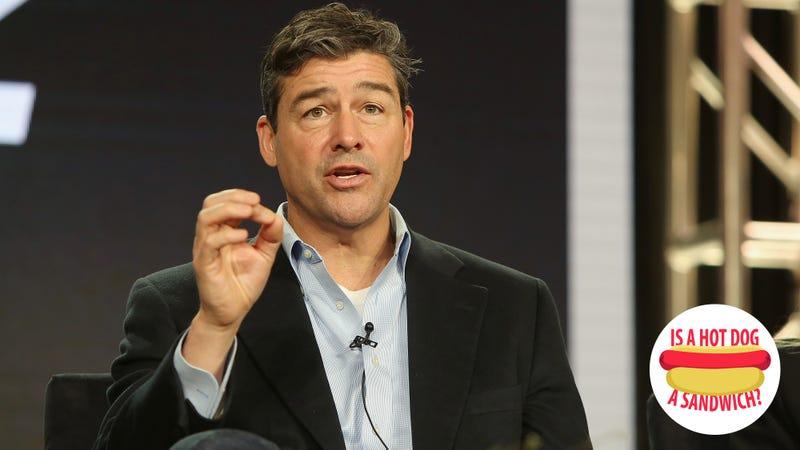 Hey Kyle Chandler, is a hot dog a sandwich?