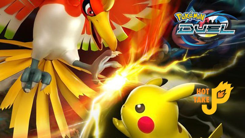 Illustration for article titled Hot Take: Pokémon Duel (Mobile)