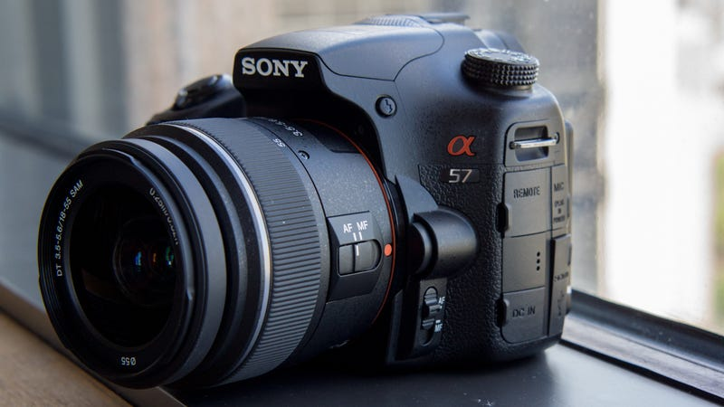 Illustration for article titled Sony Alpha SLT A57 Hands-On: DSLR Performance Without a DSLR Price