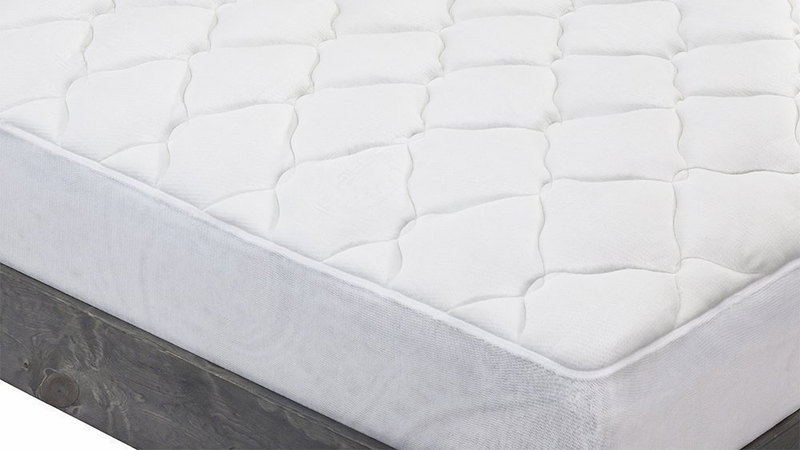 Bamboo Mattress Pad with Fitted Skirt | $72 - $94 | Amazon