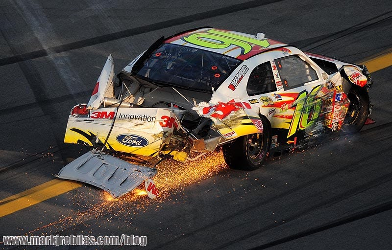 Illustration for article titled Nascar driver Greg Biffle involved in plane crash in Kentucky