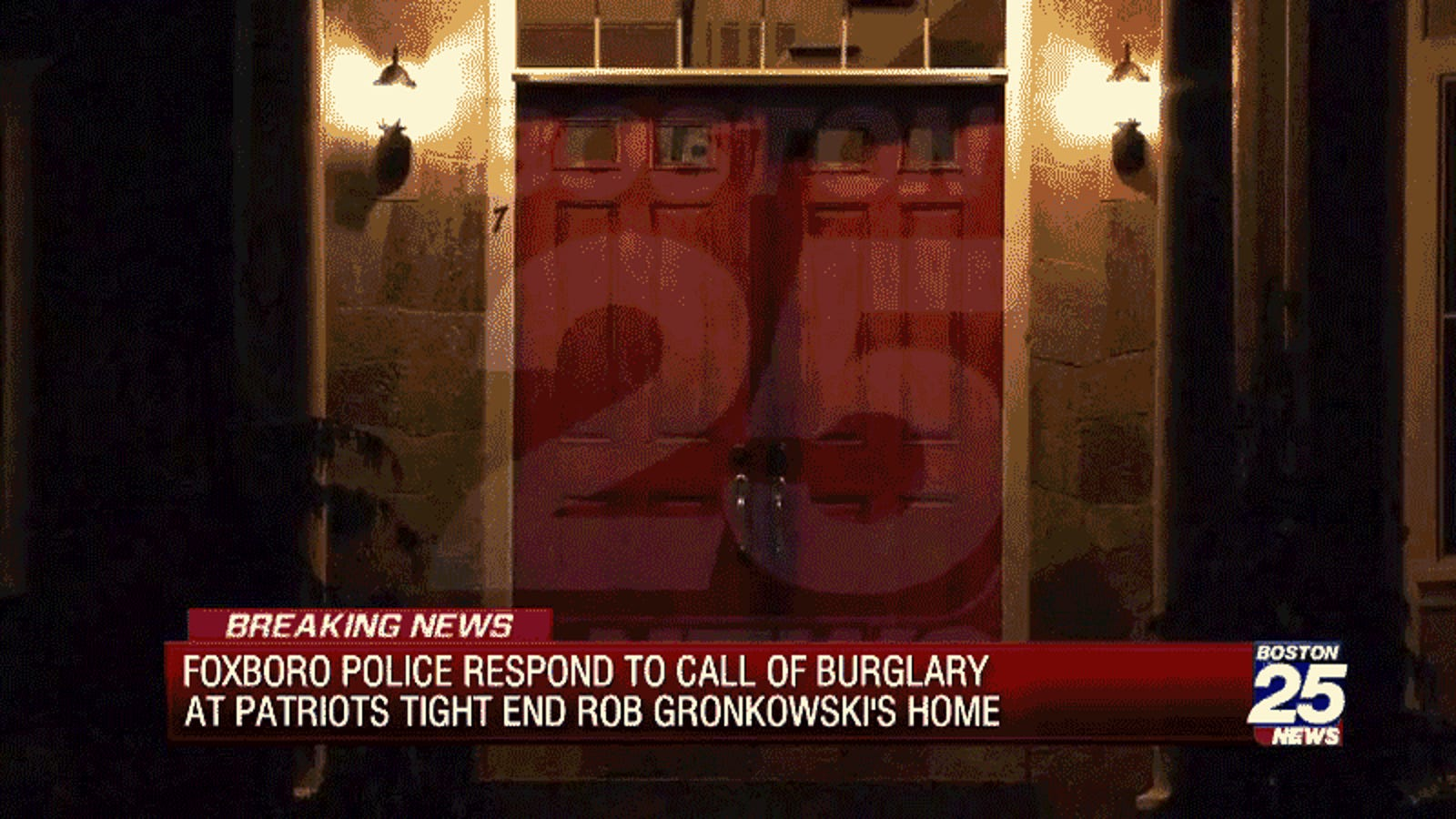3dae142a00e Report: Foxboro Police Called To Rob Gronkowski's House For Reported  Burglary