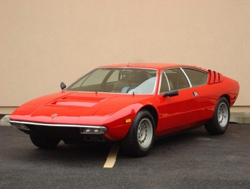1972 lamborghini urraco for a bullish $22,500!
