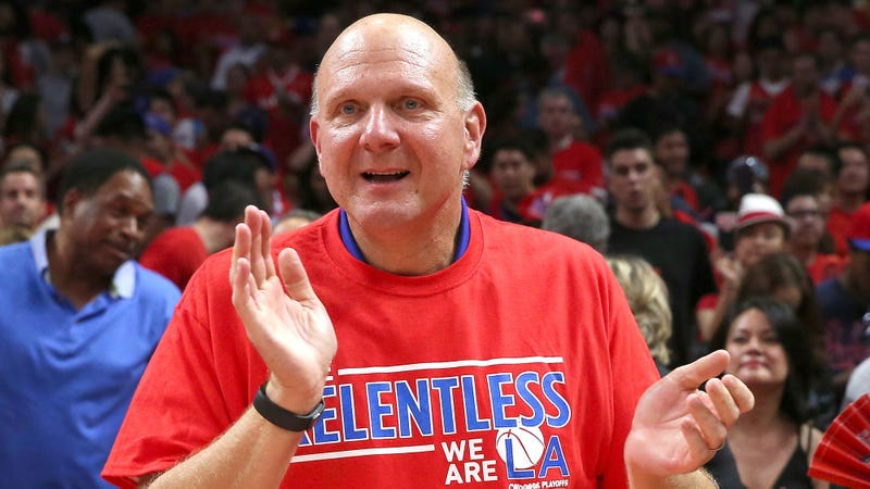 Steve Ballmer Rewards Playoff-Bound Clippers With Complimentary Microsoft Office Upgrades
