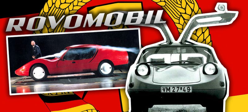 Illustration for article titled Meet The East German Beetle-Based Supercar With Better Aero Than Tesla