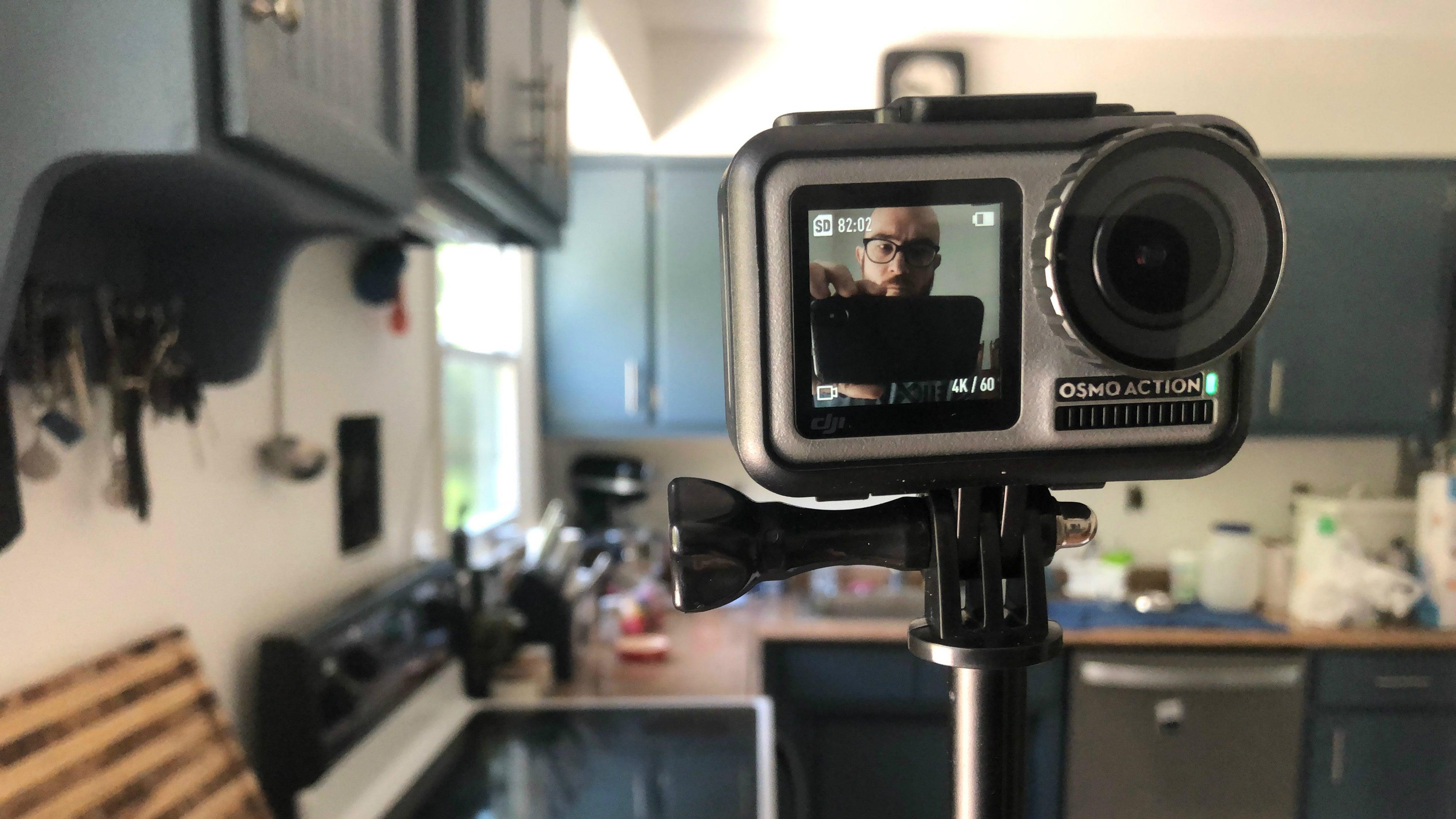 DJI Osmo Action vs  GoPro Hero7 Black Action Camera Review