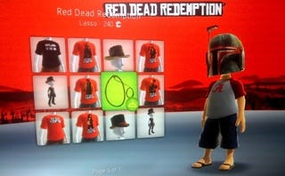 Illustration for article titled Saddle Your Avatar With Red Dead Redemption Items