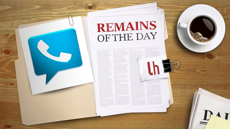 Illustration for article titled Remains of the Day: Google Voice Will Soon Get an Update