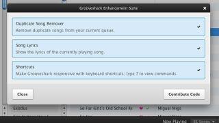 Grooveshark Enhancement Suite Removes Duplicates, Adds