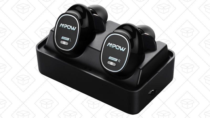 Mpow Truly Wireless Earbuds, $33 with code BF9K9AVW