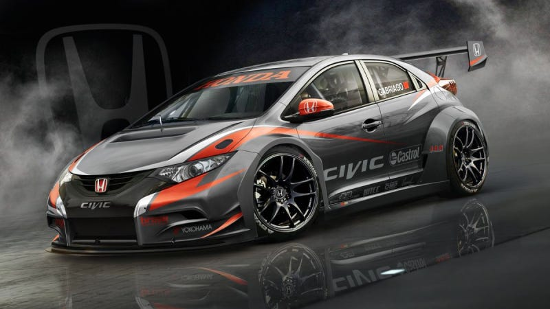Illustration for article titled Now That's A Mean-Ass Honda Civic