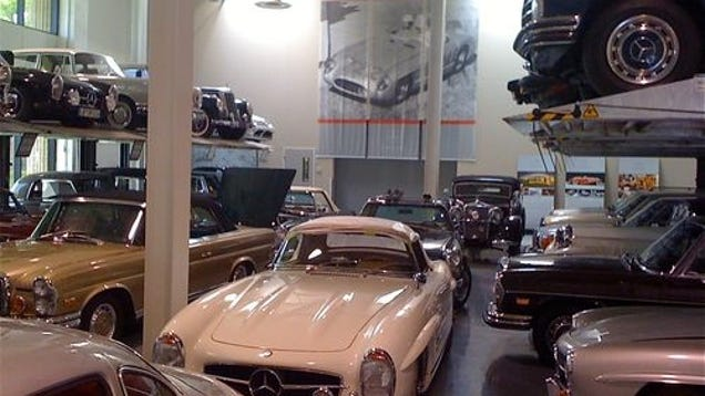 Inside mercedes benz 39 s classic treasure trove for Mercedes benz classic center germany