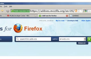 Illustration for article titled Firefox Extension 'Make Address Bar Font Size Bigger' Does Exactly What It Says