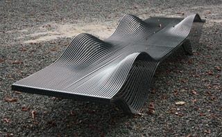 Illustration for article titled Street Furniture Designs Are Art You Can Sit On