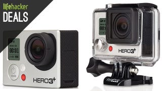 Illustration for article titled Over $100 off a GoPro Hero3+, Audio Technicas, and More Deals