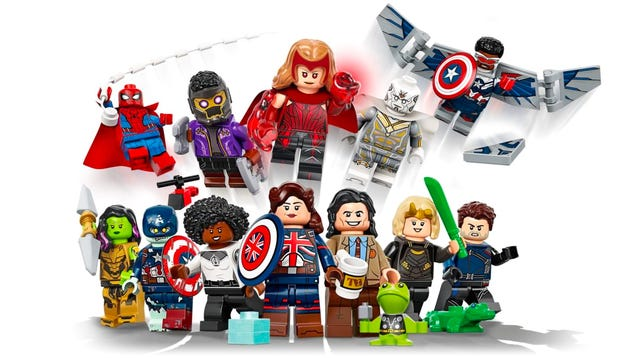 Lego s New Marvel-Themed Minifigures Are a Highly Tempting Collectible