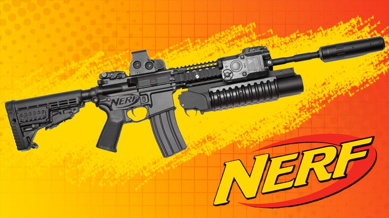 Illustration for article titled Nerf Introduces Line Of Real Guns