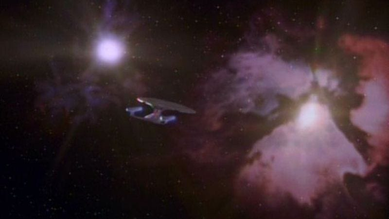 """Illustration for article titled Star Trek: The Next Generation: """"All Good Things… """""""