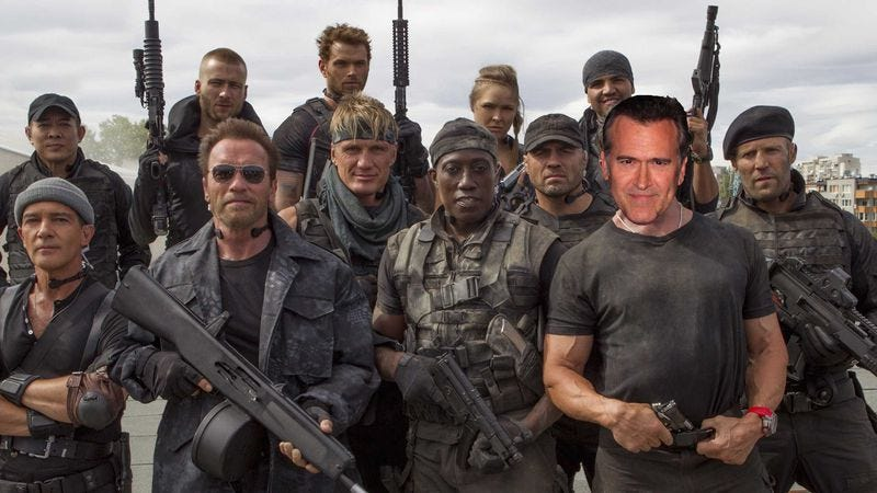 Illustration for article titled Bruce Campbell wants to make The Expendables of horror movies