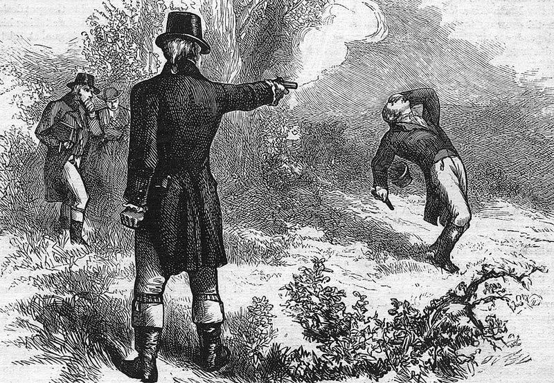 Illustration for article titled Proponen una ley en Canadá que podría volver a legalizar los duelos