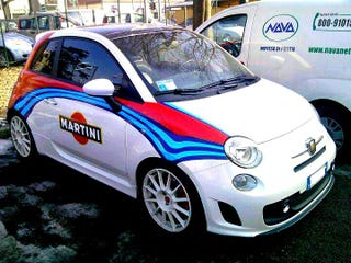 Illustration for article titled Abarth Martini