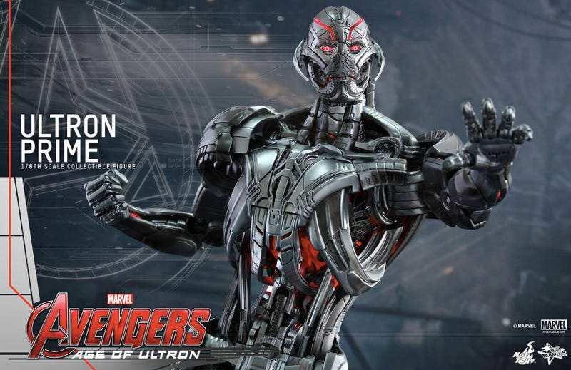 Illustration for article titled This Intricate Figure Is Our Best Look Yet At Ultron FromAvengers: AOU
