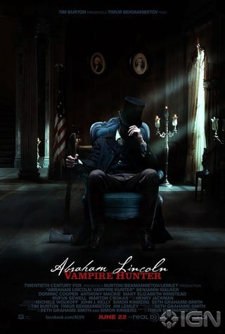 Illustration for article titled Abraham Lincoln Vampire Hunter Gallery