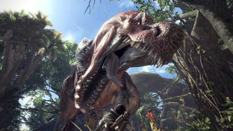 Screenshot: Monster Hunter: World/Capcom